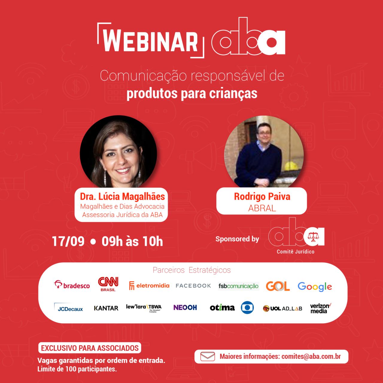 Webinar Dra. Lúcia Magalhães e Rodrigo Paiva