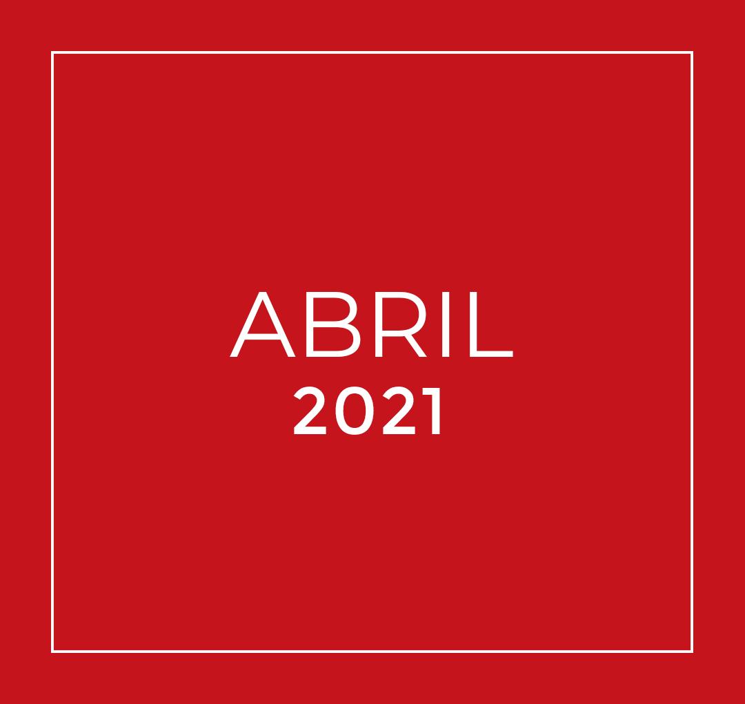 Capa Notícias - Abril